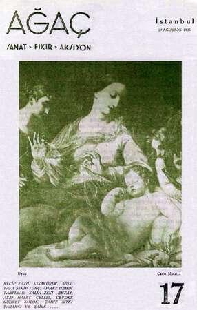 Ağaç Dergisi 29 Ağustos 1936 kapağı