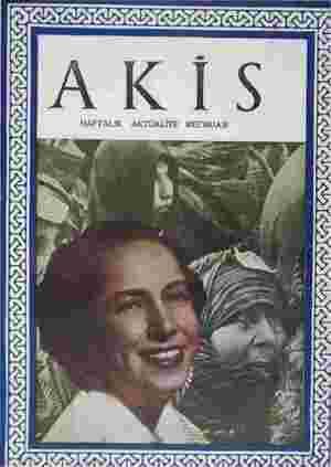 Akis Dergisi 5 Haziran 1954 kapağı