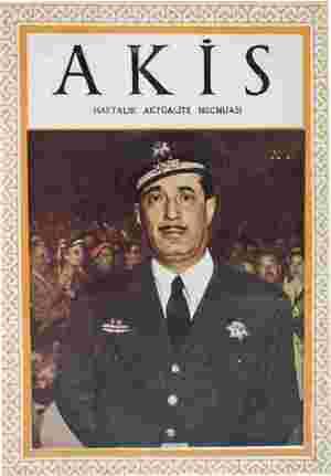 Akis Dergisi 12 Haziran 1954 kapağı