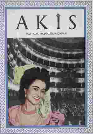 Akis Dergisi 26 Haziran 1954 kapağı