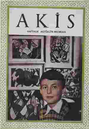 Akis Dergisi 10 Temmuz 1954 kapağı