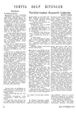 """YURTTA Demokrasi Kanunlar yürürken Seçimlerden bu y Cumh gazetesi ye onun başında bulunan Nadir Nadiyi. """"Demokrat Partiyi..."""