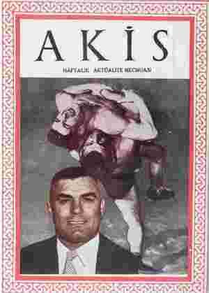 Akis Dergisi 17 Temmuz 1954 kapağı