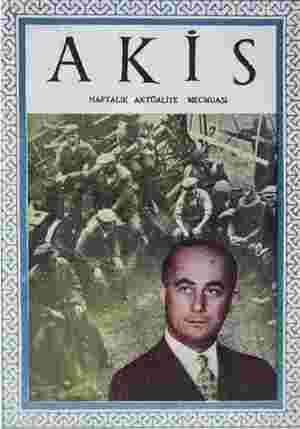 Akis Dergisi 31 Temmuz 1954 kapağı