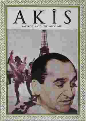 Akis Dergisi 7 Ağustos 1954 kapağı