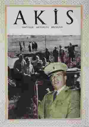 Akis Dergisi 14 Ağustos 1954 kapağı