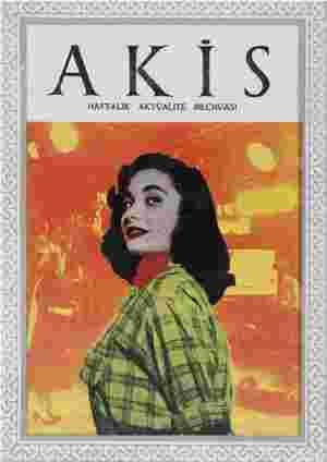 Akis Dergisi 21 Ağustos 1954 kapağı