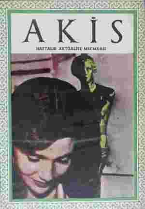 Akis Dergisi 18 Eylül 1954 kapağı