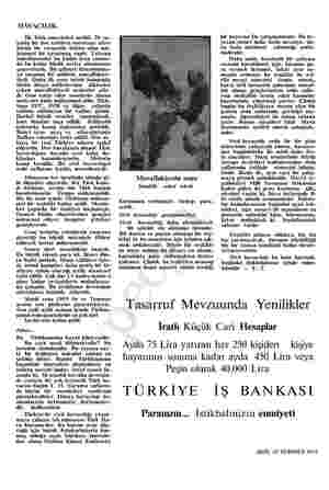 HAVACILIK. İlk Türk amortsörü serildi. 20 şında bir lise talebesi motorsuz alete büyük bir cesaretle hâkim olup mü- kemmel