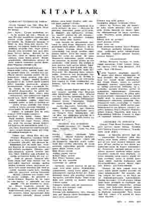 KİTAPLAR «ÇARIĞIMI YİTİRDİĞİM TARLA» (Varlık Yayınları sayı 364, Ekim Ba- imevi, İstanbul 1955, 119 Sayfa, Fiyatı 00 Kuruş).