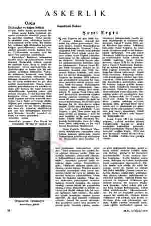 ASKERLİK Ordu İhtiyaçlar ve leğen örtüsü Geçen hafta içinde gazetelerde bir takım acaip kukla resimleri gö- renler resimlerin