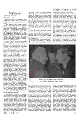 Politikacılar Kurbanlı törenler (Kapaktaki — koç) etin Tokerin Fen Fakültesi kar- ısında, Ayten sokaktaki evinin 32394...