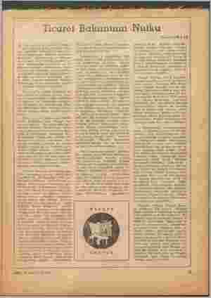 4KİS,£5 AĞUSTOS 1959 Ticaret Bakanının Nulku A rtik yerleşmiiş olan bir ananeye -3 Çöre, her yıl İzmir Fuarını açar- ken