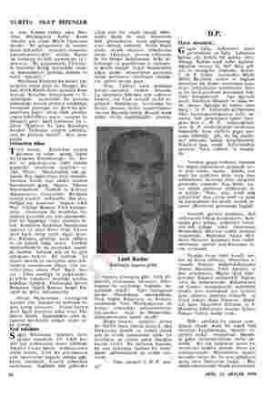 YURTTA OLUP BİTENLER ti. a Kırdara refakat eden Mos- kova — Büyükelçimiz Kemal — Kavur -kendisi pek klasik Büyük Elçilerimiz