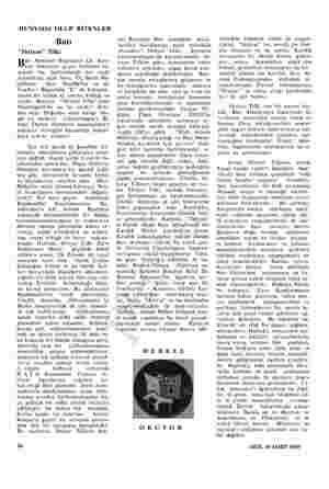 """DÜNYADA OLUP BİTENLER Batı """"İhtiyar"""" Tilki Batı Almanya Başbakanı Dr. Kon- rad Adenauer geçen haftanın so- nunda hiç..."""