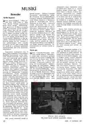 MUSİKİ Besteciler Arelin başarısı Bülent Arelin fotoğrafı, 7 Mayıs ta- rihlii New York Times ve New York Herald Tribune...