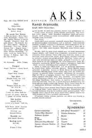 Sayı: 461 Cilt: XXVTI Yıl:9 Sahibi Mübin Toker Yazı İşleri Müdürü Kurtul Altuğ Bu sayıda Yazı Kurulu İç Haberler Kısmı :...