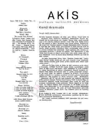 Sayı: 531 Cilt: XXX. Yıl: 11 Sahibi Mübin Toker m tin Toker Yazı İleri Müdürü Kurtul Altuğ Bu sayıda Yazı Kurulu İç Haberin