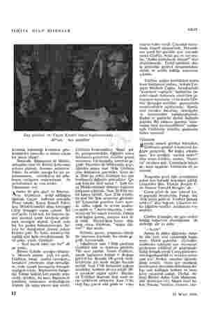 YURTTA OLUP BİTENLER Saz şairleri ve Yaşar Kemal basın toplantısında AP'nin kümetin bahsettiği komünist şebe- kesinin bir...