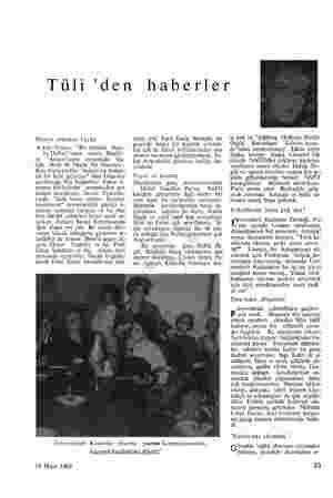 """Tüli Dünya oldukça küçük A ktör Genco, """"Bir Delinin Hatı- ra Defteri'nden sonra, Brecht'- in """"Arturo""""sunu oynamağa baş- ladı."""