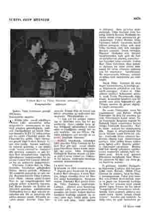 YURTTA OLUP BİTENLER Erdem Buri ve Tülay German sahnede Kompradorlar Şarkıcı Tülay Germanın geceliği 500liradır. Komünistlik