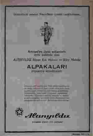 - Avrupa'ya ihraç edilenlerle aynı kalitede olan ALTINYILDIZ Süper Kid Mohair ve Silky Mohair ALPAKALARI piyasaya...