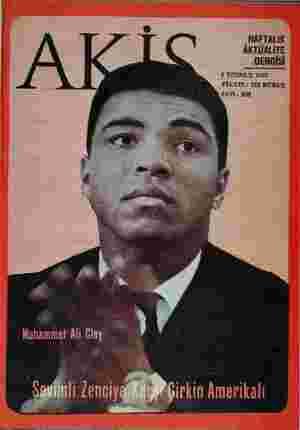 HAFTALIK .DERGİSİ I TEMMUZ 1967 FİYATI: 125 KURUŞ SAYI: 680 Mr.  ...