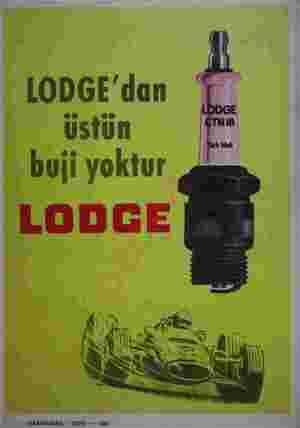 LODGE'dan üstün buji yoktur  ...