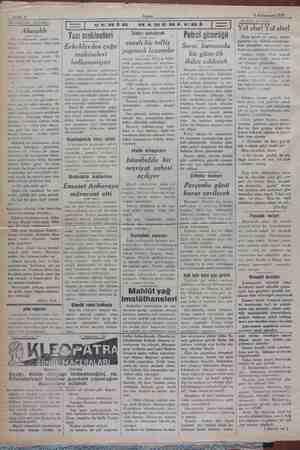 Sahife 2 Akşam | 3 Kânunusani 1929 AKSAMDAN AKŞAMA Alacaklı Bir iş müessisesi sahibi arka- im telefon ediyordu. Söze şöyle