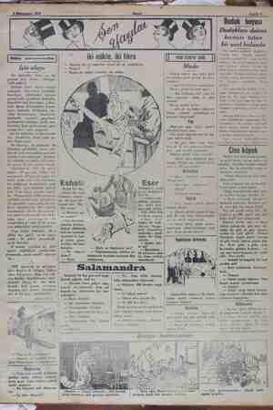 » Sahife 5 İşin alayı Bir haftadan, hattâ on  beş günden beri herkes — bekliyor: 1929 getecek. Evlerde harıl — harıl -...