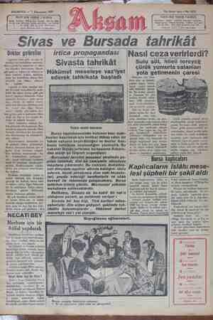 PAZARTESİ — 7 Kânunusani 'R YERDE Abene Geretlerii. Türkiye İçin, seneliği B ç eli 00 Ka YECÖL ç aylığı N yiaresi Di Tenebi