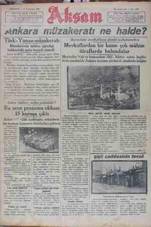 Akşam Gazetesi 21 Ocak 1929 kapağı