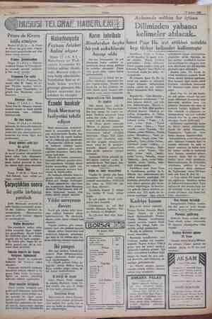 19 Şubat 1929 Primo de Rivera istifa etmiyor Madrid 17 ÇALA) — M. Primo de Rivera nn güya istifa ettiğine dair ecnebi...
