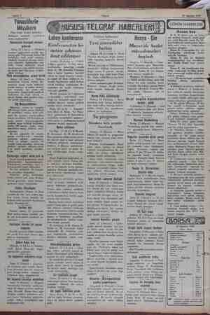 Sahife 2 15 Ağustos 1929 Yünanlilerle Müzakere (Baş traafı birinci sahilede ) komisyon nezdinde — teşebbüsat   icrası...