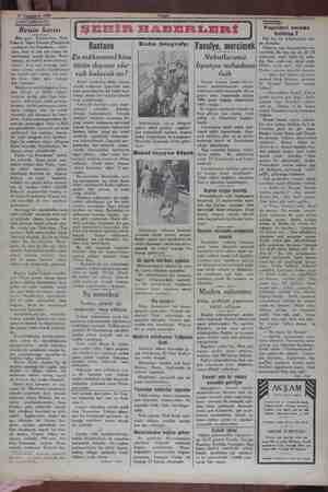 """12 Teşgnievel 1929 a DARâLlIDAY!DE Reisin karısı Dün gece, Darülbedayi, Piyer Veber'le Moris Enkenin  """"Jmüşterek  ..."""