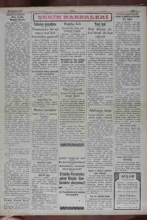28 Teşiinieyel 1929 AKŞAMDAN AKŞAMA Dün 5-tim Bugün 6-yım Kim olduğunu / hatırlamıyorum; biri, lisanları, ağaca benzetmişti