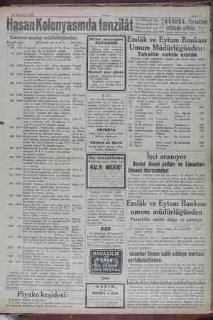 """— İ6 Teşrinisani 1929 AM ee z Sahife 11 — — ER A g 50 Küfüşluk Şişe 35 80 kuruşluk şişe 60 K """"_RU ŞA _F'_r sattanı..."""