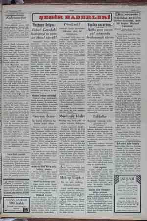 16 Teşrinisani 1929 e SAA DA SRYUURÜ ĞK Akşam Sahife 3 — AKŞAMDAN AKŞAMA Kahramanlar Yaşar Nabi Beyin Divan edebiyatı ...