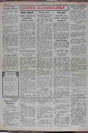 4 Mayıs 1930 Akşamı Senli 5 AKSAMDAN AKŞAMA mn mama Dayağa ra: razıyız! e Muhiddin Hi HF. , Mazhar ri Bf. ye cevap...