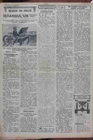 Sahife 6 Akşam 14 Mayıs 1930 Tarihi roman tefrikamız:38 kann. ea siyasi ie durmiyorlai araylar. ç a analariyorlardı....