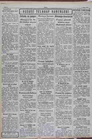 Kahit. £ Seni 2 Akşamı 5 Nisan 1931 — ve. GARABETLER veni mücadele bu? istanbul- -İzmirmaçi Meh- met oğlu Yusuf isminde...