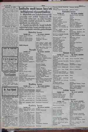 10 Nisan 1931 — — m —— e mmm Sahife 11 Müzayı ile satı 1981 Nisanın 10uncu Cuma günü sabah saat e da Bal karl Tag NE vi likte