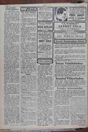 Sahife 4 12 Teşrinievvel 1931 — TIBBİ MUSAHABE: Tifonun kardeşleri Her zaman görülen ve tahri- batını devamlı bir surette
