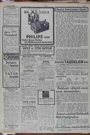 2. 16 Teşrinievvel 1931 SEYRİSEFAİN Merkez acenta: Galata Köprübaşı B. 2362. Şube A. Sirkeci Mühürdar zade han 2. 2740. İRMİR