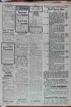 18 Teşrinievvel 1931 SEYRİSEFAİN Merkez acenta: Galata Köprübaşı B. 2362. Şube A. Sirkeci Mühürdar zade han 2. 2740....