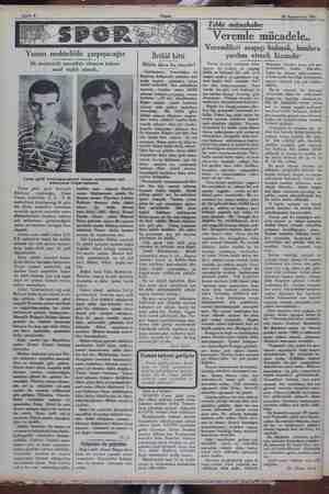 26 Teşrinievvel 1931 Yunan muhtelitile çarpışacağız İlk muhtetelit muvaffak olmazsa takımı nasıl teşkil etmeli.. Cuma günü