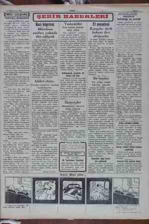 22 Teşrinisani 1931 Sahife 3 — Dir çırpıda   Yıdızlara benzemek — lâhi seni Pilli Toflar götür- sün emi?.. Kız one öyle?.. Ak