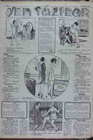 11 Kânunusani 1932 — Kocandan neye ayrılmak istiya — Anlaşamıyoruz. — Neden anlaşamıyorsunuz ? — O ayrılalım diyor, ben...