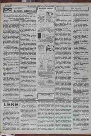 20 Şubat 1932 ie Akşam Ez X Sal ozer e e — — ya Tefrika No: 69 20 Şuhat 192 Kari'lerimizin ş e e | mükâfatlı fıkraları |