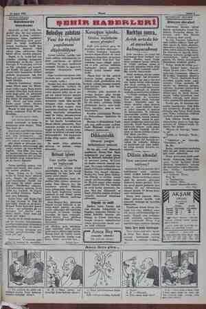 24 Şubat 1932 « ARADA SIRADA Galatasaray mecmuası Istanbulda en faal birlik han- gisidir? diye bir sual sorulacak olsa...